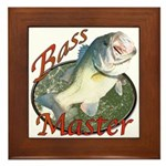 Bass master Framed Tile