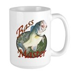 Bass master Large Mug