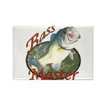 Bass master Rectangle Magnet (10 pack)