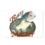 Bass master Postcards (Package of 8)