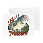 Bass master Greeting Card