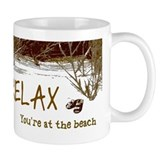 Relax You're At The Beach Coffee Mug