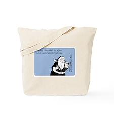 Jew Who Celebrates Christmas Tote Bag