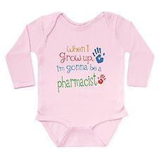 Kids Future Pharmacist Long Sleeve Infant Bodysuit