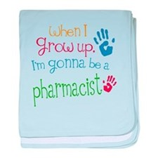 Kids Future Pharmacist baby blanket