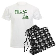 Relax Cabin Cottage Pajamas