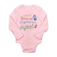 Kids Future Physicist Long Sleeve Infant Bodysuit