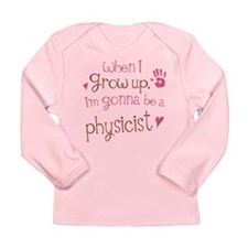 Kids Future Physicist Long Sleeve Infant T-Shirt