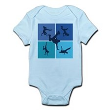 Nice various breakdancing Onesie