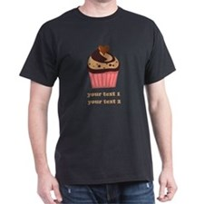 PERSONALIZE Chocolate Cupcake T-Shirt