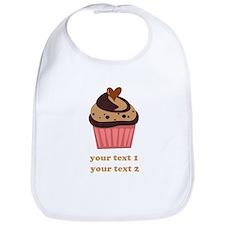 PERSONALIZE Chocolate Cupcake Bib