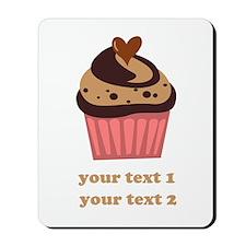 PERSONALIZE Chocolate Cupcake Mousepad