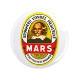 "Belgium Beer Label 1 3.5"" Button (100 pack)"