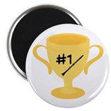 Clarinet Trophy Magnet