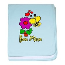 Bee Mine baby blanket