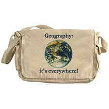 Geography Messenger Bag