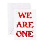 WE ARE ONE XXV Greeting Cards (Pk of 20)