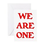 WE ARE ONE XXV Greeting Card