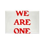 WE ARE ONE XXV Rectangle Magnet (100 pack)