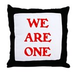 WE ARE ONE XXV Throw Pillow