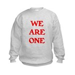 WE ARE ONE XXV Kids Sweatshirt
