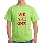 WE ARE ONE XXV Green T-Shirt