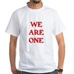 WE ARE ONE XXV White T-Shirt