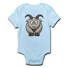 Goat Infant Bodysuit