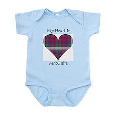 Heart - MacGuire Infant Bodysuit