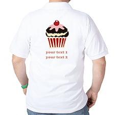 PERSONALIZE Vanilla Cupcake T-Shirt