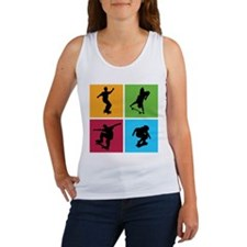 Nice various skating Women's Tank Top