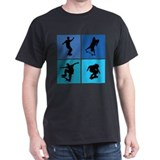 Nice various skating T-Shirt