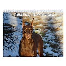 Amazing Dobermans Calendar