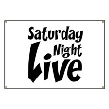 Saturday Night Live SNL Banner