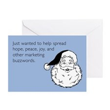 Holiday Buzzwords Greeting Cards (Pk of 10)