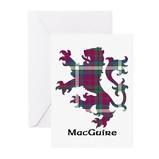 Lion - MacGuire Greeting Cards (Pk of 20)