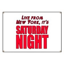 Live From New York It's Saturday Night Banner