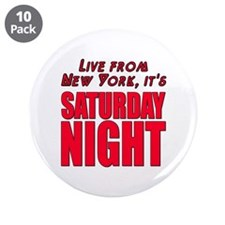 "Live From New York It's Saturday Night 3.5"" Button"