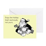 Enjoy the Holiday Greeting Card