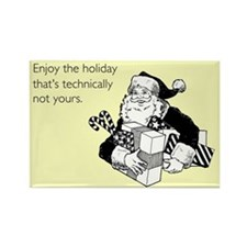 Enjoy the Holiday Rectangle Magnet