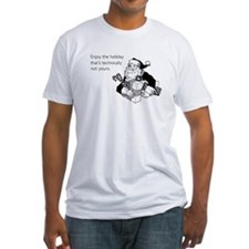 Enjoy the Holiday Fitted T-Shirt