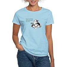 Enjoy the Holiday Women's Light T-Shirt
