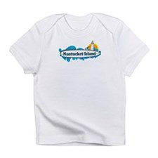 Nantucket MA - Surf Design. Infant T-Shirt