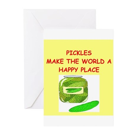 pickles Greeting Cards (Pk of 20)