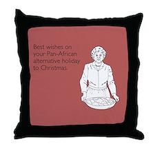 Pan-African Alternative Throw Pillow