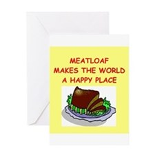 meat loaf Greeting Card