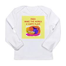 eggs Long Sleeve Infant T-Shirt