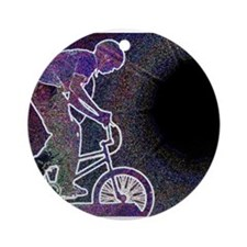 WillieBMX The Glowing Edge Ornament (Round)