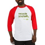 recycle yourself tshirt Baseball Jersey
