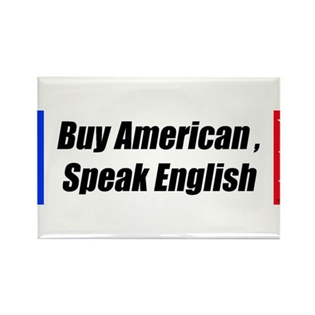 American Bumper-Sticker Rectangle Magnet